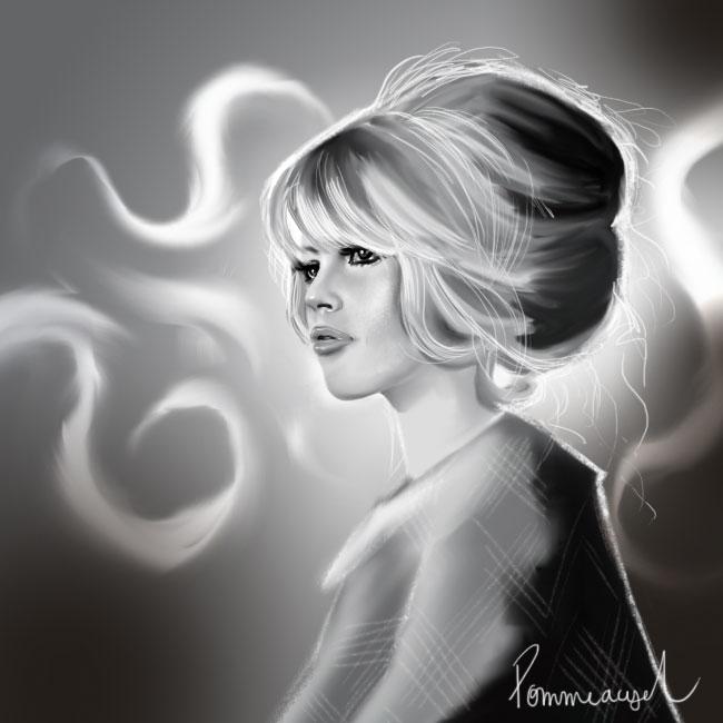 Brigitte Bardot by Pommeacyd
